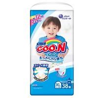 88VIP:GOO.N 大王 维E系列 拉拉裤 XL38片 4包装 男宝宝