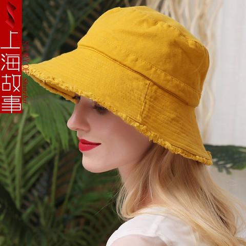 shanghai story 上海故事 上海故事 新款遮阳渔夫帽