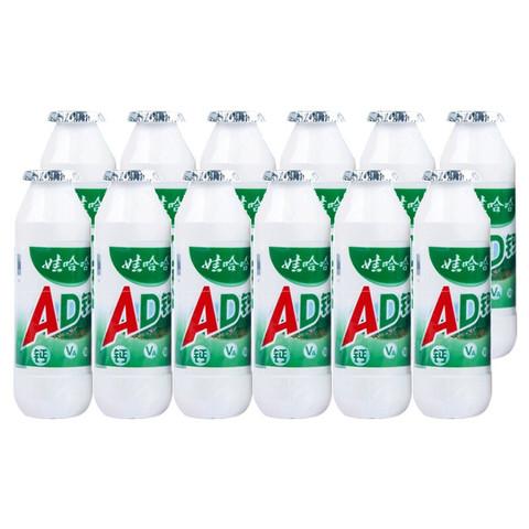 WAHAHA 娃哈哈 娃哈哈 AD钙奶 含乳饮料 100g*12瓶