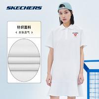 SKECHERS 斯凯奇 女款松T恤连衣裙