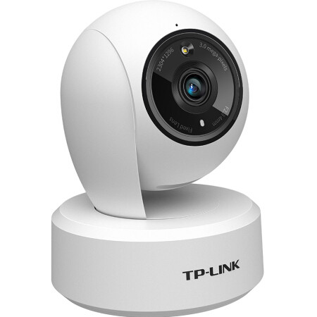 TP-LINK 普联 TL-IPC43AW 2K超清全彩无线监控摄像头 白色