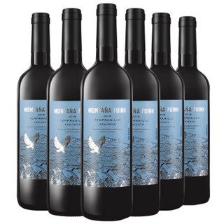 CHANGYU 张裕 张裕先锋 西班牙富茵山 半干红葡萄酒  750ml*6瓶 整箱装 西班牙原瓶进口红酒