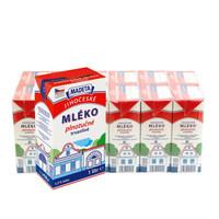 限地区:玛德塔 全脂纯牛奶 1L*12盒