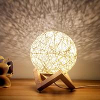 良合 木架藤球灯 床头台灯