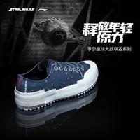 LI-NING 李宁 x 星球大战联名 AGCQ215 男款运动帆布鞋