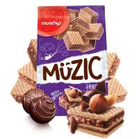 限地区:munchy's 马奇新新 榛子巧克力夹心威化饼干 90g