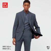 UNIQLO 优衣库 +J 439932 男士羊毛西装