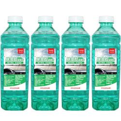Jauto 京安途 虫胶玻璃水清洁剂 0度 1.3L*4瓶