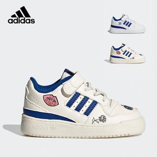 adidas Originals 三叶草女婴童魔术贴网球鞋
