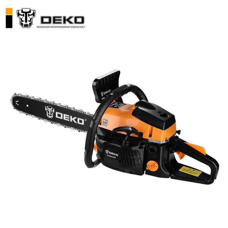 油锯汽油锯伐木锯 20寸二冲程多功能大功率链锯电锯砍树机木工切割机园林工具 油锯