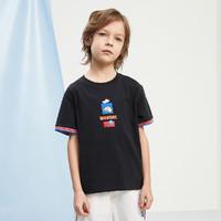 MQD 马骑顿 男童短袖T恤