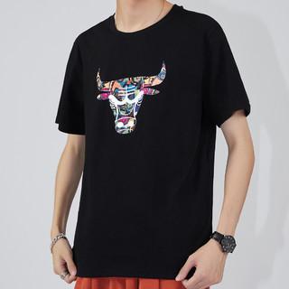 Semir 森马 ZA3A002212W63-D037 男士短袖T恤
