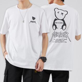 Semir 森马 ZA3A002212W45-D010 男士短袖T恤