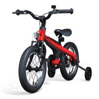 Ninebot 九号 九号(ninebot)儿童自行车3-4-6岁宝宝小男孩单车脚踏车14寸红色带辅助轮