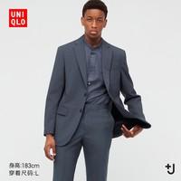 UNIQLO 优衣库 +J 439932 男士羊毛西装外套