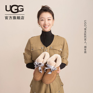UGG 2020秋冬女士便鞋系带休闲雪地靴明星同款1119934