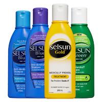 Selsun  Blue 黄瓶 特效去屑止痒洗发水 200ml
