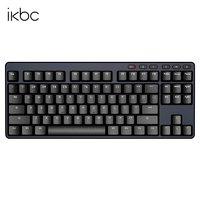 iKBC S200 无线键盘 87键 红轴 黑色