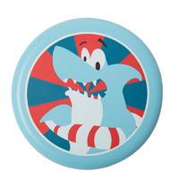 迪卡侬飞盘泡沫儿童软飞碟玩具户外手抛好玩亲子安全耐咬SBT 蓝色小鲨鱼