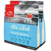 orijen 渴望 六种鱼全阶段猫粮 1.8kg*2包
