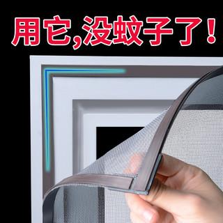 Lightdot 亮朵 磁吸纱窗纱网自装防蚊沙窗家用自粘磁铁磁性简易窗户门帘隐形窗帘