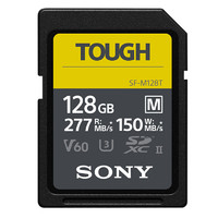 SONY 索尼 SF-M128T SD存储卡 128GB(UHS-III、V60)