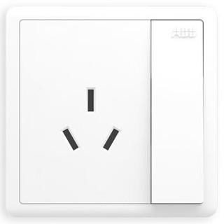 ABB  AO228 开关插座 16A(3孔)