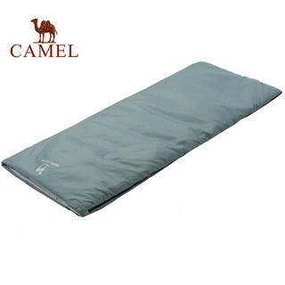 CAMEL 骆驼 骆驼羽绒棉睡袋冬季加厚大人防寒保暖便携式旅行床单酒店隔脏睡袋 A8W03001 天蓝