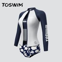 TOSWIM 拓胜  TS81120604003 女款三件套泳衣