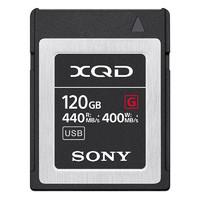 SONY 索尼 XQD-G系列 QD-G120F 存储卡 120GB(440MB/s)