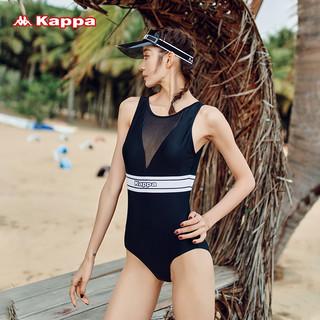 Kappa 卡帕 Kappa连体游泳衣女士专业三角2021年新款泡温泉性感时尚显瘦泳装