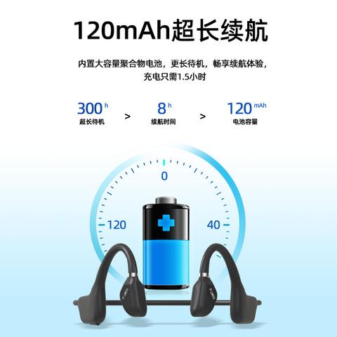 X20适用于华为骨传导蓝牙耳机无线运动型跑步健身不入耳久戴