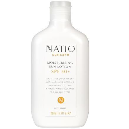 NATIO 娜迪奥 NATIO 娜迪奥 小花伞轻薄防晒乳 SPF50+ 200ml