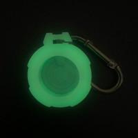 Damon Light 苹果AirTag防丢器 军工款硅胶保护套 荧光版
