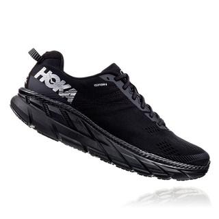 HOKA ONE ONE 克利夫顿系列 Clifton 6 男子跑鞋 1102872-BLK 黑色 43
