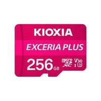 KIOXIA 铠侠 EXCERIA PLUS 极至光速系列 microSD存储卡 256GB(UHS-I、V30、U3)
