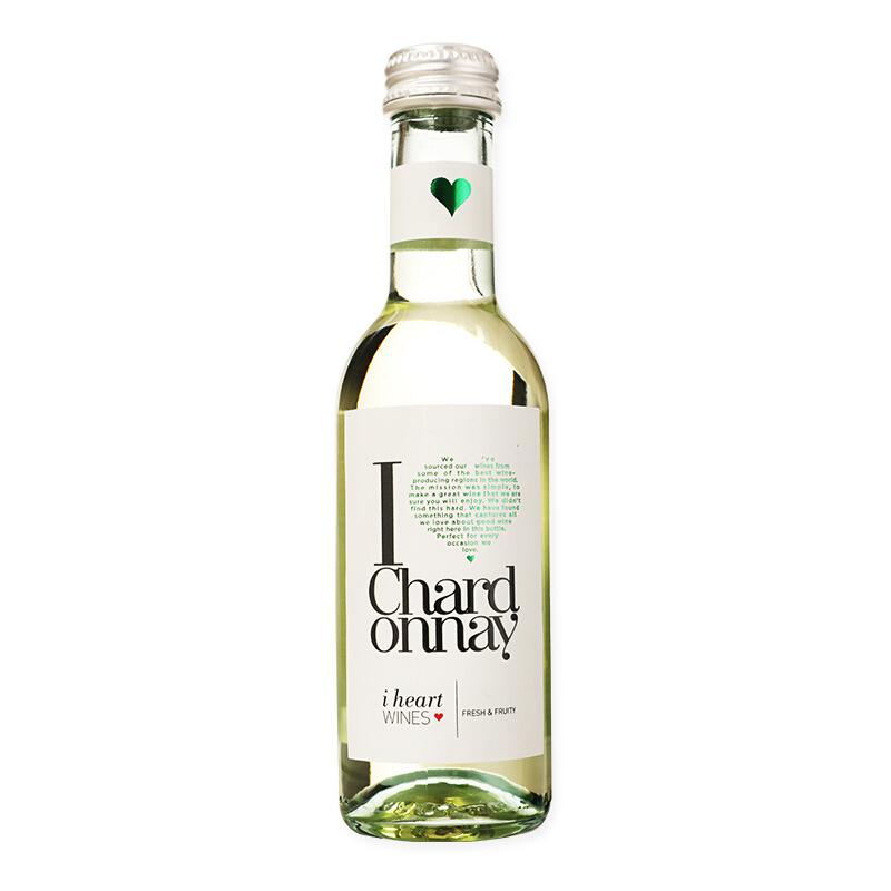 HENKELL 汉凯 爱嗨霞多丽半干白葡萄酒 187ml 单瓶装