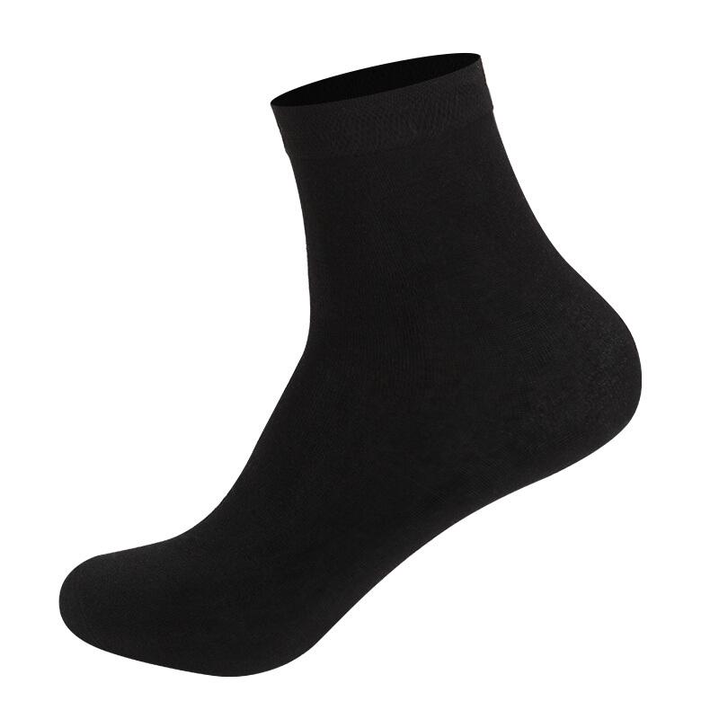 Nan ji ren 南极人 男士经典商务中筒袜套装 5双装 经典商务