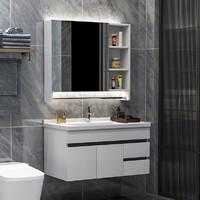 Uniler 联勒 实木免漆浴室柜 经典款 80cm