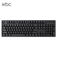 iKBC iKBC C104 104键 有线机械键盘 Cherry红轴