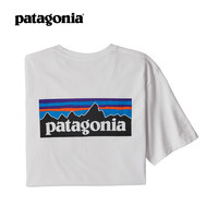 patagonia 巴塔哥尼亚 38512 男款印花短袖T恤