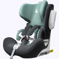 EURO KIDS 袋鼠爸爸 白气球 儿童安全座椅 9个月-12岁 薄荷绿
