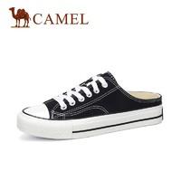 CAMEL 骆驼 A93571608 女士帆布半拖鞋