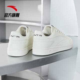 ANTA 安踏 安踏板鞋男鞋2021夏季透气运动男士小白鞋官方旗舰休闲鞋学生鞋子