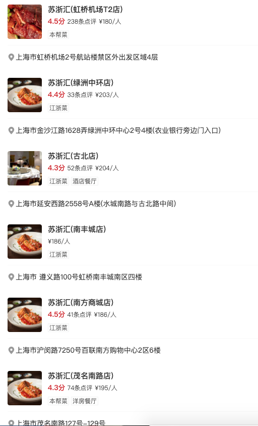 上海12店通用!苏浙汇50元代金券,5元购