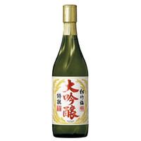 松竹梅  大吟酿 日本酒 720毫升