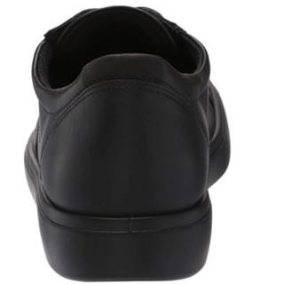 ecco 爱步 女士休闲鞋 Black Suede /Black/Black Sole 4-4.5