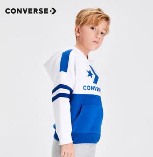 CONVERSE 匡威 Converse匡威童装春秋款新男童小童洋气连帽针织休闲儿童卫衣