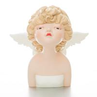 Ben Art Gallery 本艺术空间 贾晓鸥 国王花园系列-骤然天使 空间装饰 创意礼品 32x35x30cm 宝力石