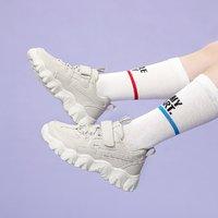 Hush Puppies 暇步士 暇步士童鞋男女童运动鞋春秋休闲厚底老爹鞋小白鞋(26-37)